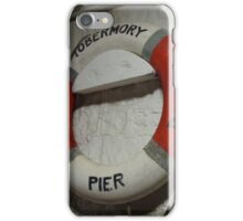 Tobermory pier iPhone Case/Skin