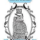 Classy Honey Badger by rhodyownsthis