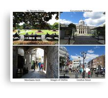 Images of Dublin, Ireland Canvas Print