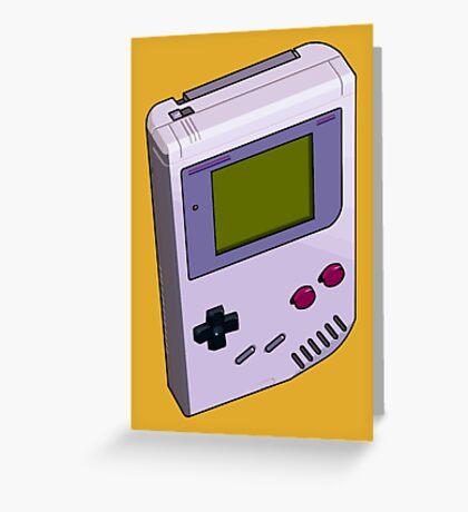 Game Boy 3D Greeting Card