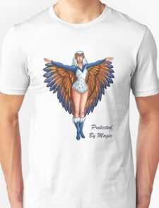 """He-Man Sorceress """"Protected By Magic"""" Unisex T-Shirt"""