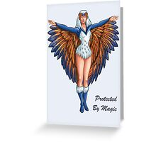"He-Man Sorceress ""Protected By Magic"" Greeting Card"