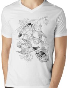 Breakfast Rush. Color Project.  Mens V-Neck T-Shirt