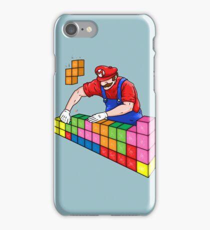 Super Mario Mason iPhone Case/Skin