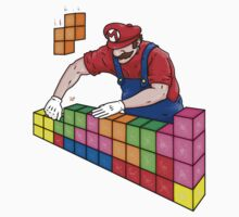 Super Mario Mason Kids Clothes