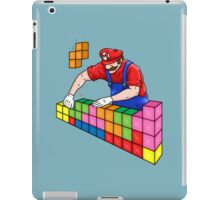 Super Mario Mason iPad Case/Skin