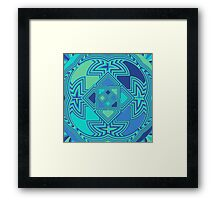 Ocean Ripples Framed Print