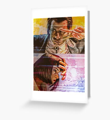 Pulp Fiction - Dance Greeting Card