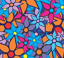 Trendy Floral Pattern by Nhan Ngo