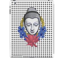 Buddah and flowers iPad Case/Skin