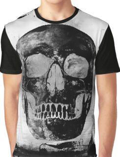 Grunge Skull Graphic T-Shirt