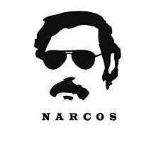 Narcos Silhouette  Photographic Print