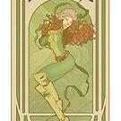 Art Nouveau Rogue by Lily McDonnell