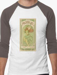 Art Nouveau Rogue Men's Baseball ¾ T-Shirt