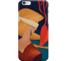 A tough, blind love iPhone Case/Skin