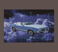Oldsmobile Cutlass Supreme Muscle Car Kids Clothes