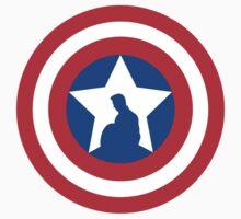 Cap's Shield Kids Tee