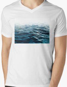 Blue Sea Mens V-Neck T-Shirt