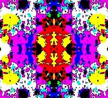 Colorful Pattern by Phi Nilez