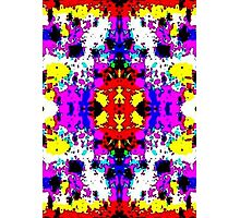 Colorful Pattern Photographic Print