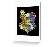 Pokemon houses Greeting Card