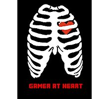 gamer at heart- invert Photographic Print