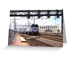 Amtrak E-60 Electric Locomotive #600 Greeting Card