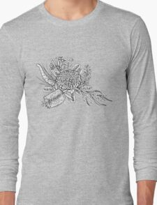 Australian Native Flowers Long Sleeve T-Shirt