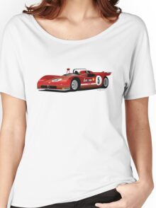 1970 Alpha Romeo Type 33/3 Women's Relaxed Fit T-Shirt