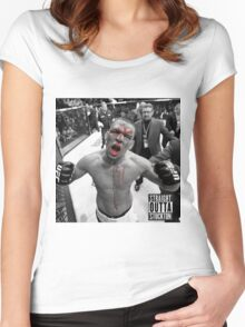 *Nate ufc* Women's Fitted Scoop T-Shirt