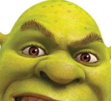 Shrek T-Shirt - It's Never Ogre Sticker