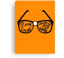 Drug Cartel- Glasses Canvas Print