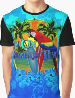 Island Time Surfing Honu Graphic T-Shirt