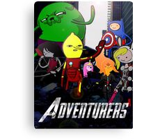 The Adventurers! Canvas Print
