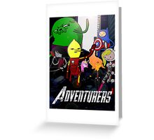 The Adventurers! Greeting Card