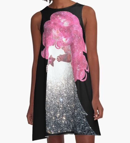 Rose Quartz A-Line Dress