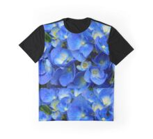 Blue Hydrangea in the Garden    ^ Graphic T-Shirt