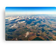 Earth Photo From 10.000m (32.000 feet) Above Ground Canvas Print