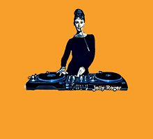 Audrey Dee Jay Color Womens Fitted T-Shirt