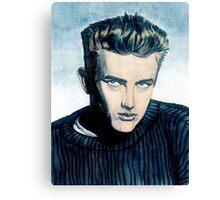 James Dean: Blue Canvas Print