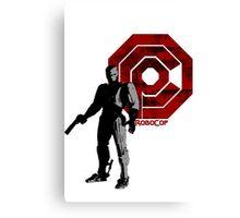 Crimson RoboCop Canvas Print
