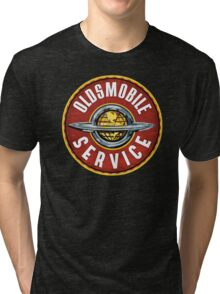 Oldsmobile Service sign Tri-blend T-Shirt