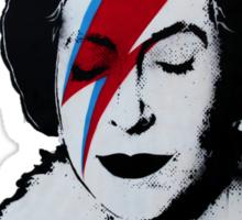 Banksy- God Save Sticker