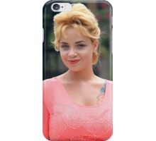 Young girl blonde iPhone Case/Skin