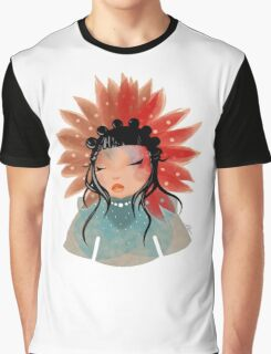 Flower from Mars Graphic T-Shirt