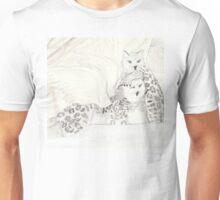 Snow Griffins watercolor Unisex T-Shirt