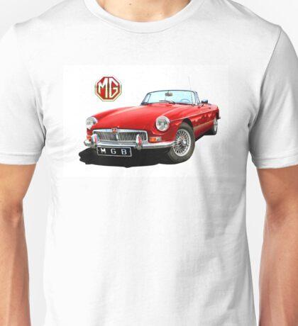 MGB classic British Sports Car Unisex T-Shirt