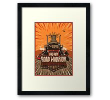 The Road Warrior Framed Print