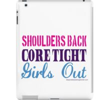 Listen To Your Coach (color text) iPad Case/Skin