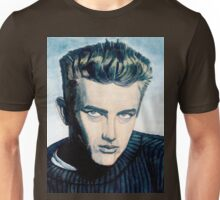 James Dean: Blue Unisex T-Shirt